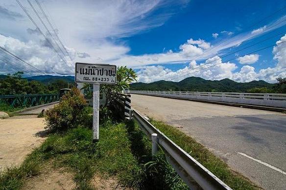 strada in thailandia