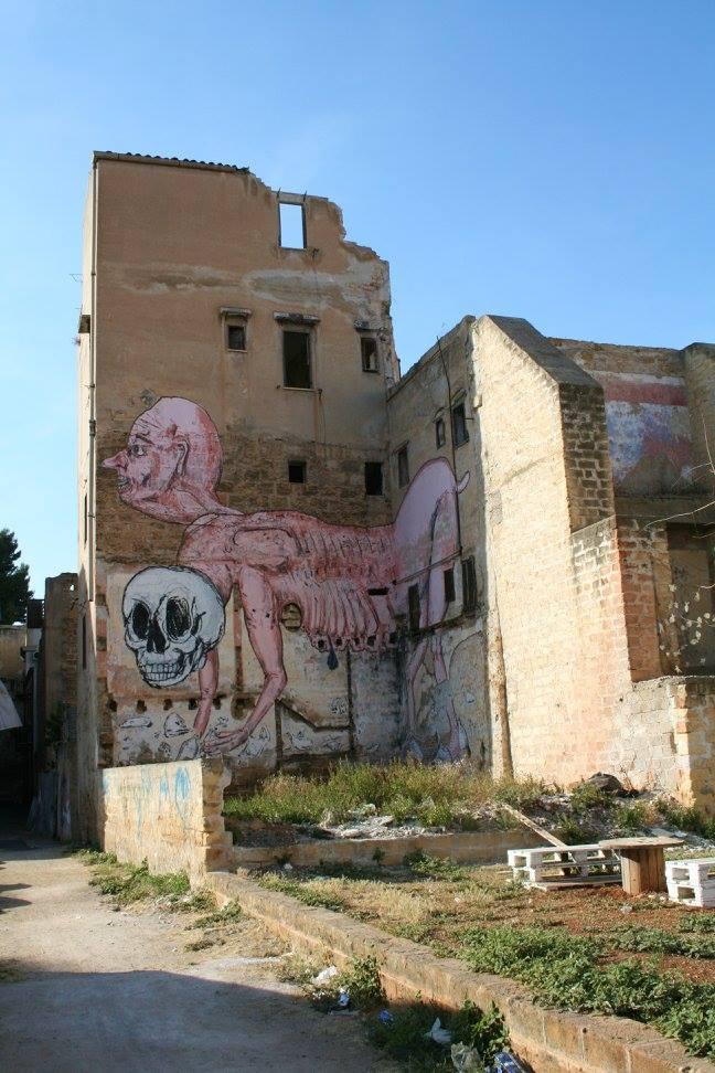 il quartiere arabo della kalsa
