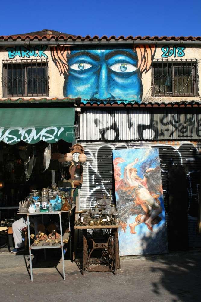 street art ad atene quartieri